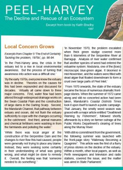 Local Concern Grows