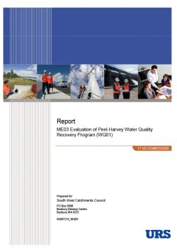 ME03 Evaluation of Peel-Harvey Water Quality Recovery Program (WQ01)