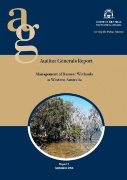 Auditor General's Report – Management of Ramsar Wetlands in Western Australia