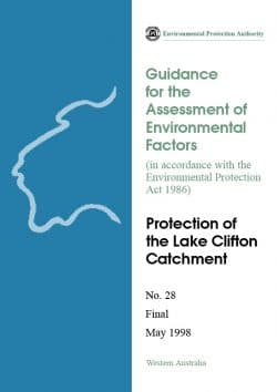 Guidance for the Assessment of Environmental Factors – Protection of the Lake Clifton Catchment