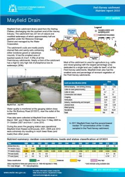 Mayfield Drain 2012 Update