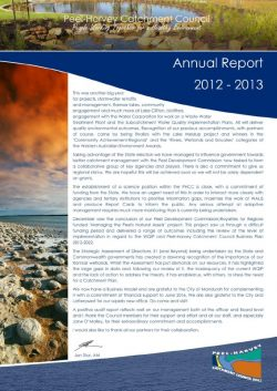 PHCC Annual Report 2012-2013