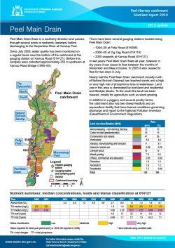 Peel Main Drain 2012 Update