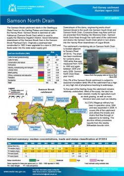 Samson North Drain 2012 Update