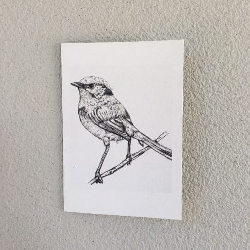 Artwork by Renee Barton – Bird Card
