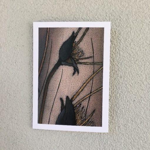 Artwork by Renee Barton – Flower Card