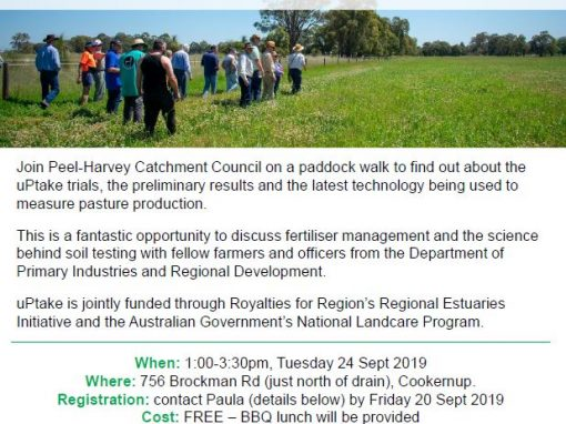 Explore the benefits of soil testing: Demonstration site  field walk