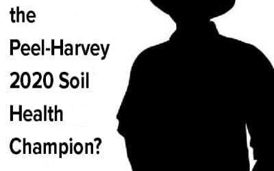 Are you the Peel-Harvey 2020 Soil Health Champion?