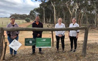 Farmers neighbouring Dryandra Woodland enhance habitat for Threatened Species