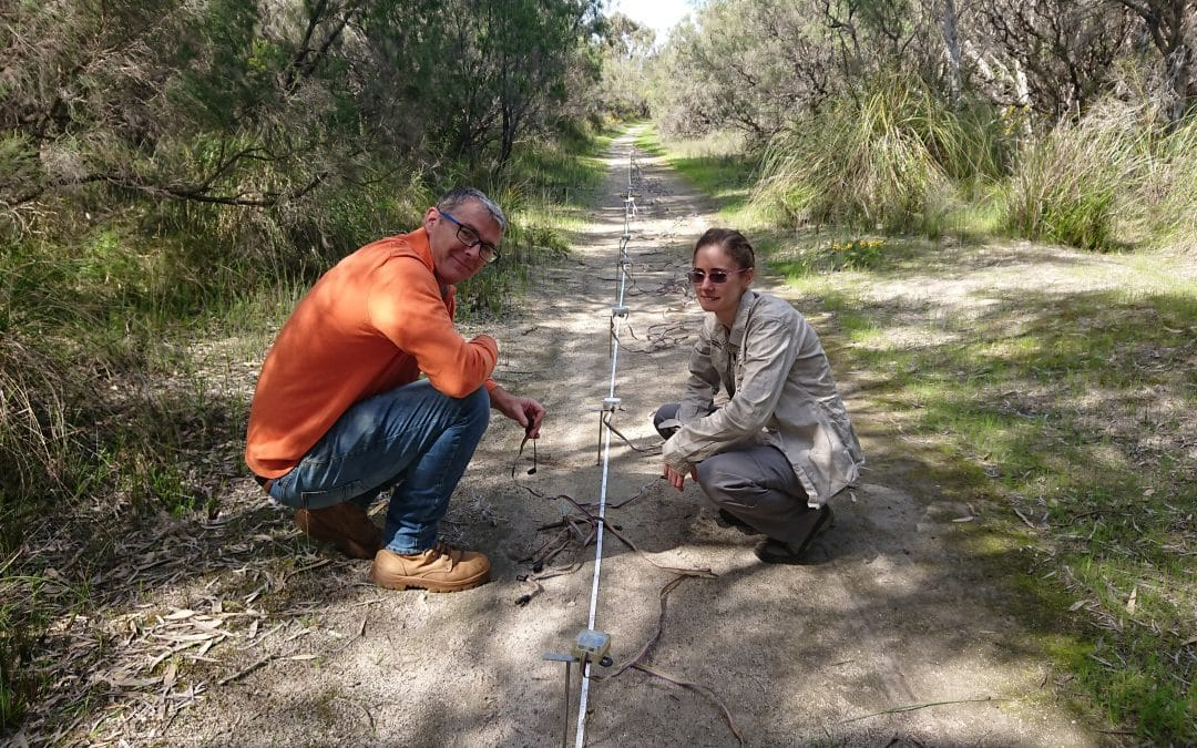 Using Electrical Resistance to Assess Groundwater