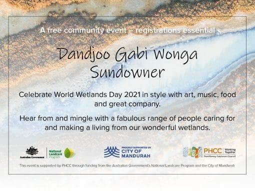 Dandjoo Gabi Wonga Sundowner