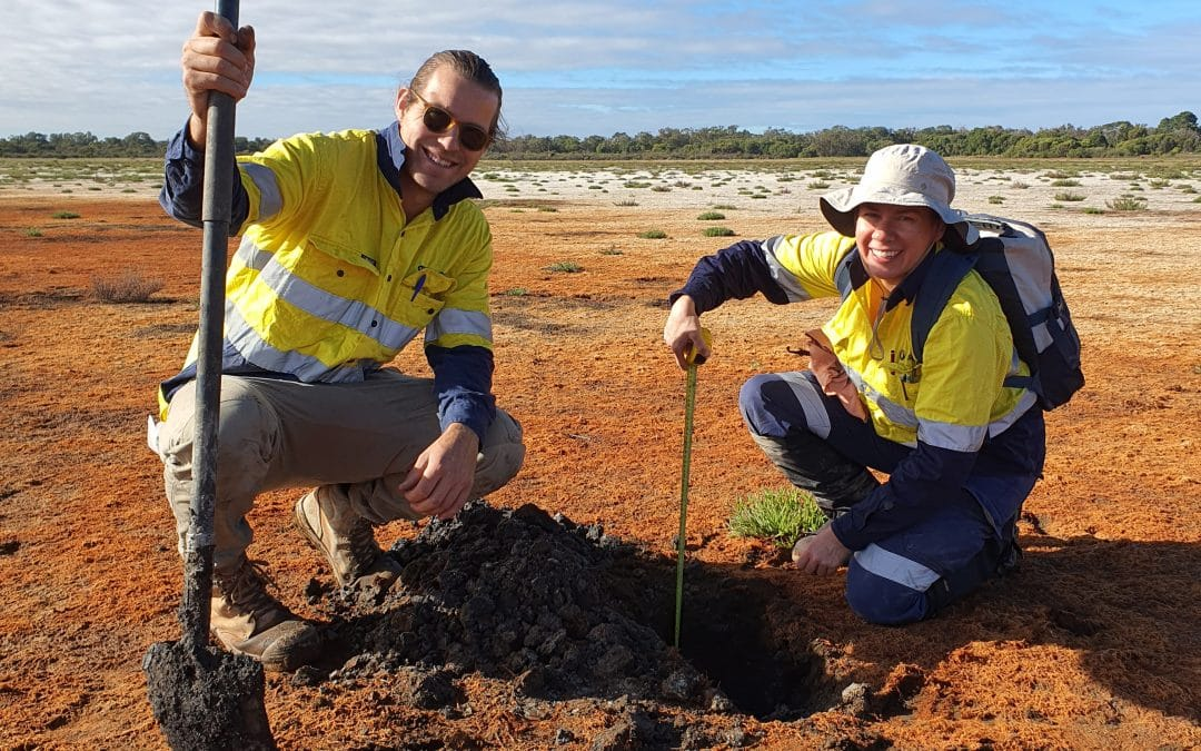 Acid Sulfate Soil Field Work Investigations Complete at Lake McLarty